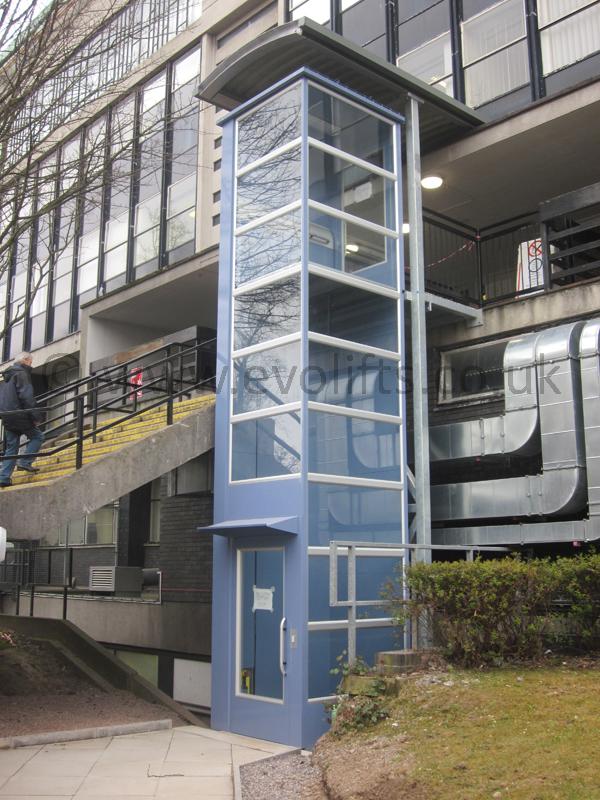 aritco 7000 external platform lift. Black Bedroom Furniture Sets. Home Design Ideas